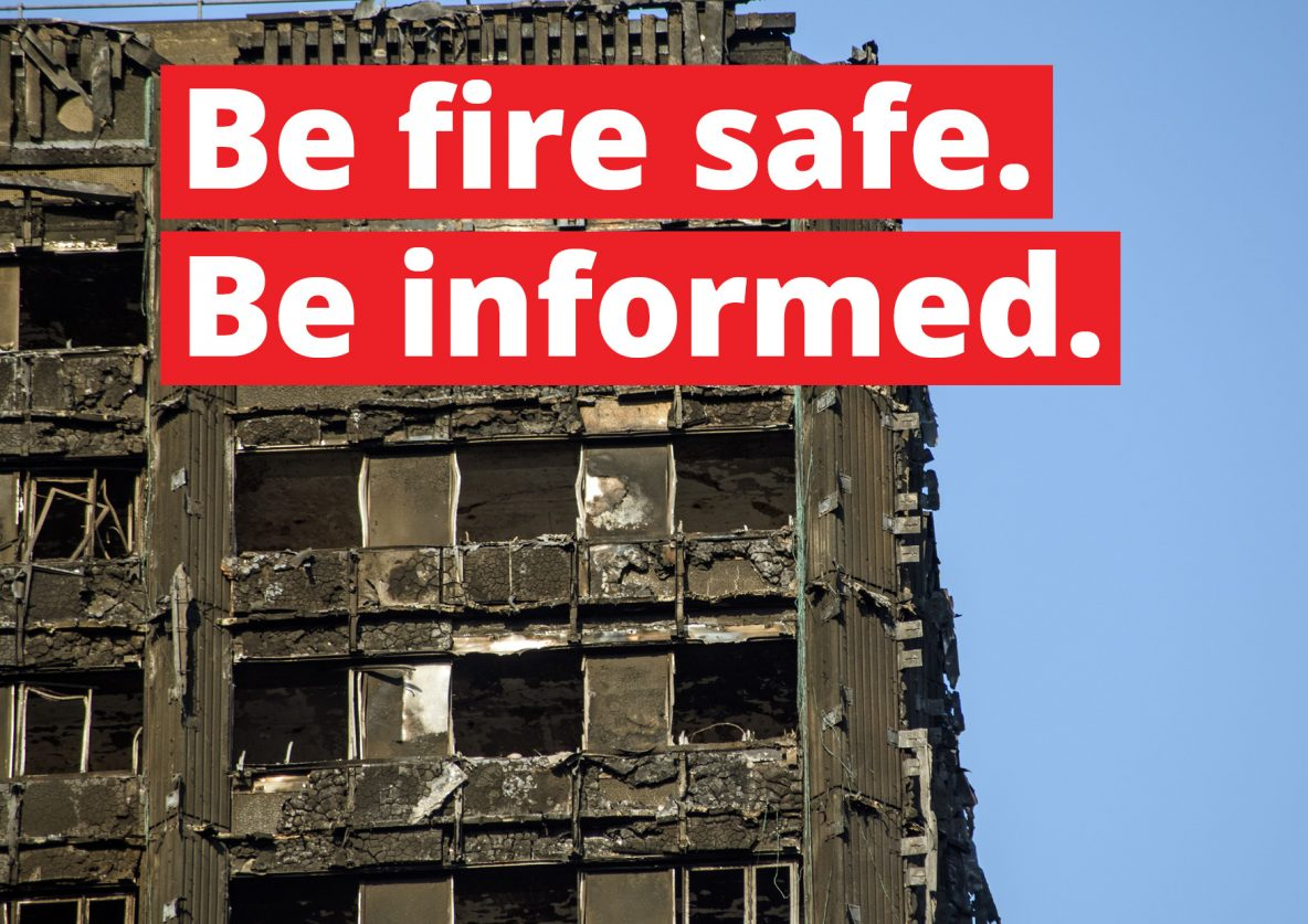 Be fire safe. Be informed.