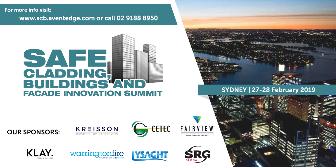 Safe cladding, buildings and facade innovation summit